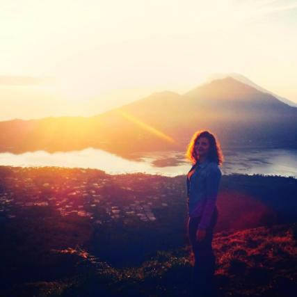 On top of Mount Batur