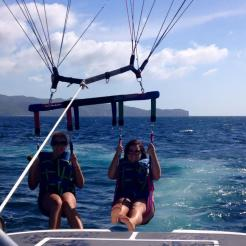Paragliding on Borocay