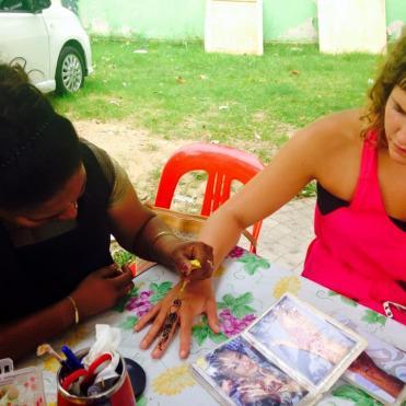 Henna in Kuala Lumpur
