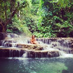 Waterfalls in Cambodia