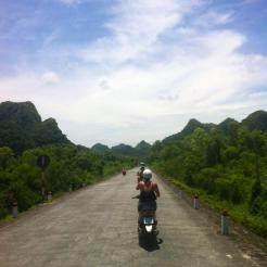 Mopeding around Asia
